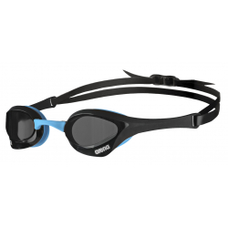 ARENA Cobra Ultra Swipe - Dark Smoke Black Blue - Lunettes Natation Noir et Bleu