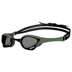 ARENA Cobra Ultra Swipe -Smoke Army Black - Lunettes Natation Vert et Noir