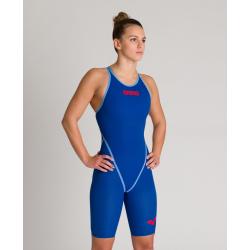 ARENA Carbon CORE FX Dos Fermé Powerskin - Ocean Blue - Combinaison Natation Femme