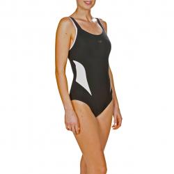 Arena Bodylift MAKIMURAX Black White - Maillot Aquagym et Piscine Femme