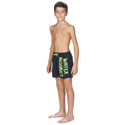 Bermuda Garçon Arena Water Instinct Junior Boxer Navy Leaf