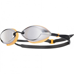 Lunettes TYR Tracer Racing Metallized Silver/Orange