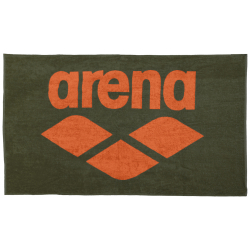 Serviette ARENA Pool Soft Towel - Army Tangerine