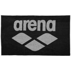 Serviette ARENA Pool Soft Towel - Black grey