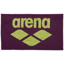 Serviette ARENA Pool Soft Towel - Red Wine Shiny Green