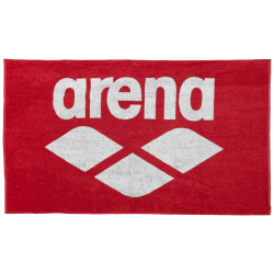Serviette ARENA Pool Soft Towel - Red White