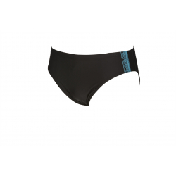 ARENA JOINY Brief - Black Sea Blue - Maillot Natation Homme