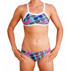 Bas de maillot Bikini MAKO Sunnies Blue