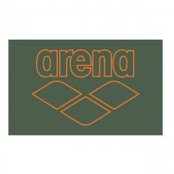 Microfibre Arena POOL SMART TOWEL Army Tangerine - Serviette Natation en microfibres