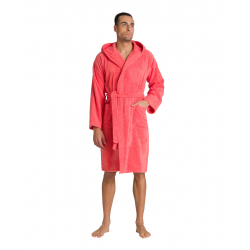 ARENA Core Soft Robe Pale Rose White - Peignoir Rose et Blanc Natation et Piscine