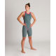 ARENA Carbon CORE FX Dos ouvert Powerskin - Army Green - Combinaison Natation Femme