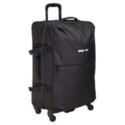Arena Team XL Cargo - Team Black Melange - Valise de voyage à roulettes 75L