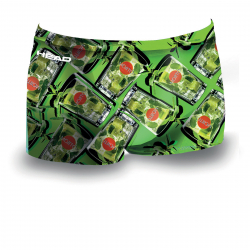 Head COCKTAIL Lime - Maillot de bain Boxer Natation