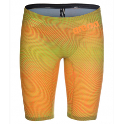 ARENA PowerSkin CARBON Air ² 2 Homme - Lime Orange - Jammer Natation