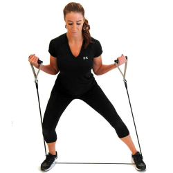 Strachcordz BASIC With Handles - Elastique avec poignées pour renforcement musculaire