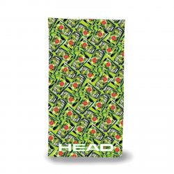 Serviette Microfibre HEAD Printed Microfiber Towel - Lime