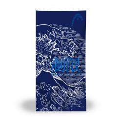 Serviette Microfibre HEAD Printed Microfiber Towel - Navy Light Blue