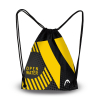 Head Printed Sling Bag Open Water - Black Yellow - Sac pour matériel Natation