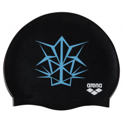 Bonnet ARENA OG Silicone Cap Black Turquoise - Collection Bishamon