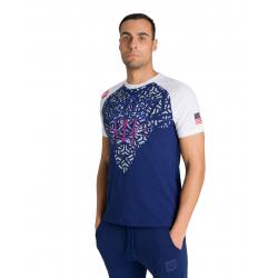 Tee shirt ARENA OG Raglan US NAVY - Collection Bishamon