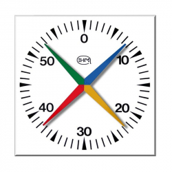 Compte-secondes de piscine mural IHM 629B - Grandes dimensions 1mx1m Etanche IP67