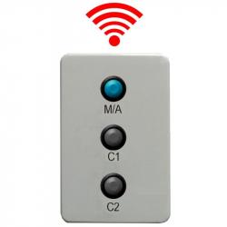 Boitier d'Alimentation + commande sans fil pour 2 compte-secondes IHM 632B/RF