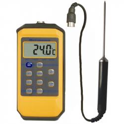 Thermomètre Sonde Piscine IHM 9289AT - Etanche IP65 / mémoires /alarmes