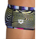 Maillot REVERSIBLE Arena POP Black Multi - Low waist short Black Multi -Maillot Boxer Natation Homme