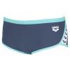 Arena Team Stripe - Low Waist Short - Shark Mint - Boxer Natation Homme