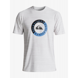 Tee Shirt Quiksilver Scrypto Surf - Surf-Tee Amphibian UPF 50 WHITE (wbb0)