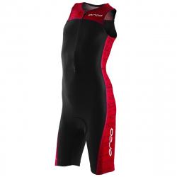 ORCA Core kids Race Suit - BLACK RED - Trifonction Junior