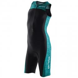 ORCA Core kids Race Suit - BLACK GREEN - Trifonction Junior