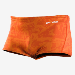 BOXER ORCA SQUARE LEG - ORANGE - Boxer de natation