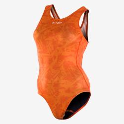 ORCA ONE PIECE - ORANGE - Maillot de bain natation Femme 1 pièce