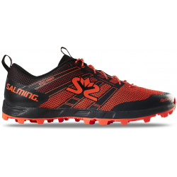 SALMING ELEMENT S3 Femme Black - Orange - 2021 - Chaussures Running pour SwimRun et Trail