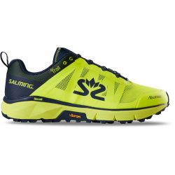 SALMING TRAIL T6 Homme Yellow - Navy - 2021 - Chaussures Running pour TRAIL et SWIMRUN