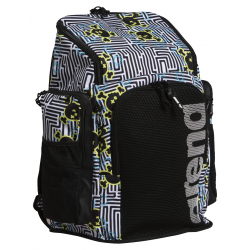 ARENA Team Backpack 45 Allover Crazy Labyrinth- Sac à Dos Natation & Piscine