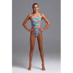 FUNKITA Fille - Burning Man - Strapped In- Maillot fille Natation