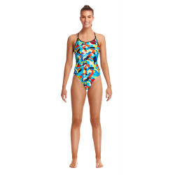 Funkita Planet Funky - Diamond back - Maillot de bain Femme Natation