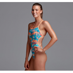 Funkita ROAD TRIPPER - Dos Twisted - Maillot Femme Natation