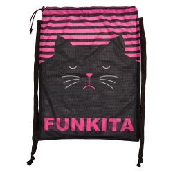 Mesh Bag FUNKITA Crazy Cat