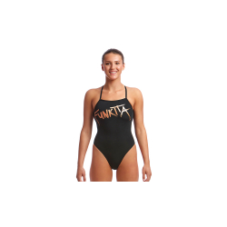 Funkita Bronzed - Strapped In - Maillot Femme Natation