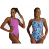 ARENA Rule Breaker HOOKED REV - Reflexion Multi - Maillot Natation Femme 1 piece