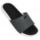 Arena MARCO Box + Hook - Dark grey black white - Claquettes Piscine