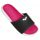 Arena MARCO Box + Hook - Black Pink White - Claquettes Piscine Rose
