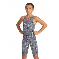 ARENA Fille ( 8-13 ans) Powerskin ST 2.0 Vapor Illusion EDITION LIMITE - Dos Ouvert
