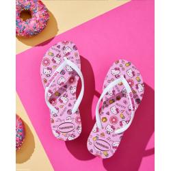 HAVAIANAS Kids Slim Hello Kitty - Macaron pink - Tongs Junior