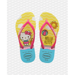 HAVAIANAS Kids Slim Hello Kitty - White - Tongs Junior