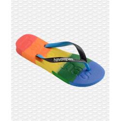 HAVAIANAS Top Logomania Multicolor Gradient Rainbow - Tongs Femme