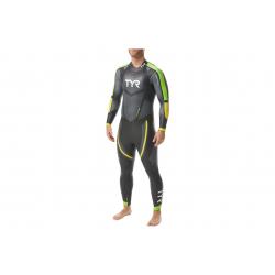 TYR Hurricane C5 - Combinaison Triathlon Homme Néoprène